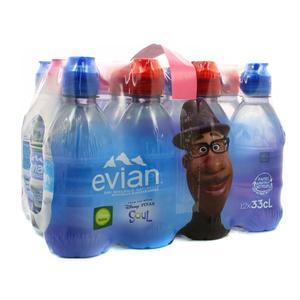 Evian Eau minérale naturelle (bouchons sport)