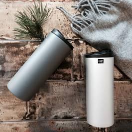 Zak Designs ON THE GO Mug iso double paroi gris