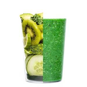 Blend my day Smoothie snack 50 SHADES OF GREEN - prêt-à-mixer-  Kiwi, Kale, Spiruline