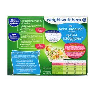 Weight  Watchers Riz Saint Jacques et bacon