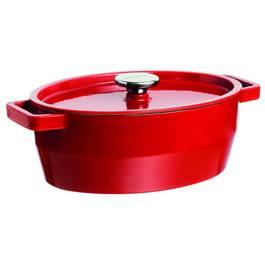 Pyrex Cocotte en fonte ovale spécial mijotage