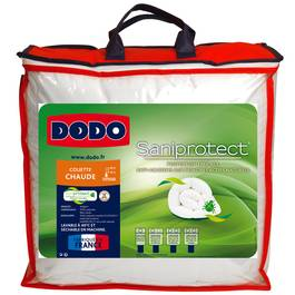 Dodo Couette chaude saniprotect, 220x240 cm : houra.fr