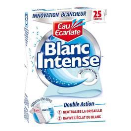 Eau Ecarlate Blanc Intense x25 lingettes