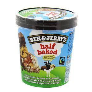 Ben&Jerry's Pot crème glacées Half Baked Brownies & Cookie Dough 500ml