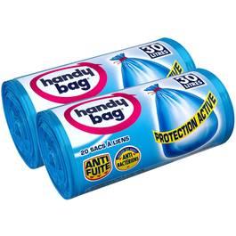 Handy Bag Sacs poubelle 30 L à liens protection active