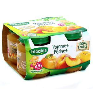 Blédina  Petit pot pêche pomme dès 4 mois