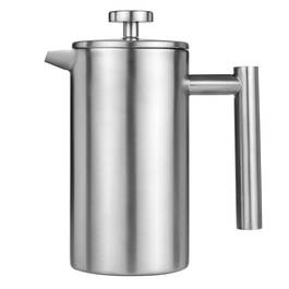 Cafeti re piston 3 tasses inox melitta shoptimise - Utilisation cafetiere a piston ...
