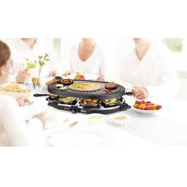 Princess Appareil à raclette 8 personnes 1200w + gril - 162700-01-001