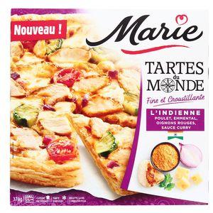 Marie Tarte du monde l'indienne- Poulet, Emmental, Oignons rouges, Sauce Curry