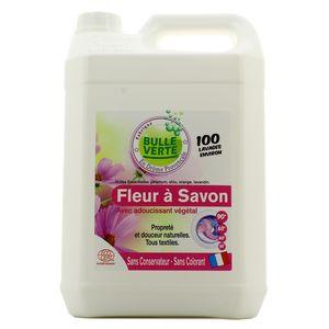 Bulle Verte Lessive Ecologique Fleur à savon