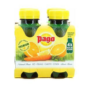 Pago Nectar d'orange, carotte et citron