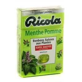 Ricola Bonbon Menthe Pomme sans sucre