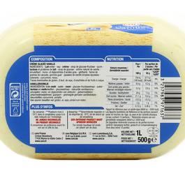 Cora Crème glacée Vanille 1 litre
