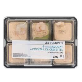 Mix Buffet Verrine avocat coktail de crevettes
