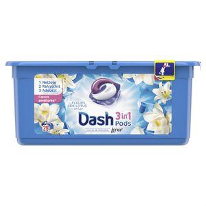 Dash Lessive fleurs de lotus et lys