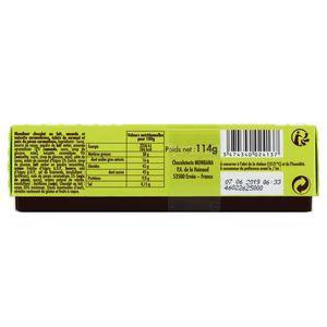 Chocolaterie Monbana Les mandiants au chocolat au lait