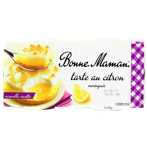 Bonne Maman Tarte au citron meringuée