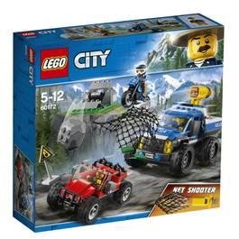 LEGO® City 60172- La course-poursuite en montagne
