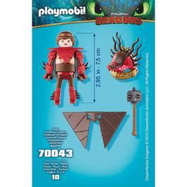 PLAYMOBIL® Dragons Rustik en combinaison de vol