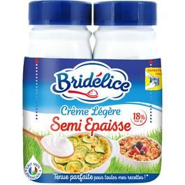 Bridélice Crème  semi-épaisse légère 18 % Mat.gr