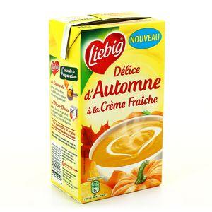 Liebig doux plaisirs delice d'automne à la crème fraiche 1l