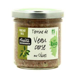 Charles Antona Terrine de veau corse aux olives bio