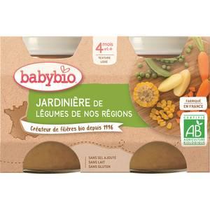 Babybio Jardinière de légumes Bio, dès 4 mois