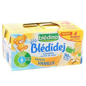Blédina - Blédi'dej vanille au lait de suite Dès 6 mois