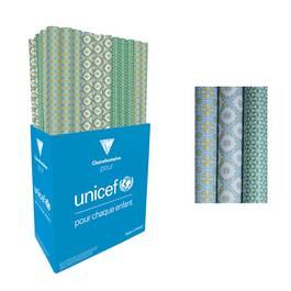 Clairefontaine pour UNICEF Un rouleau de papier cadeau Every day adulte