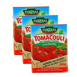 Panzani Tomacoulis au basilic