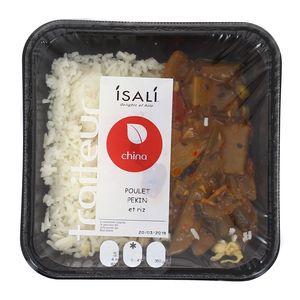 Isali Poulet Pékin et riz