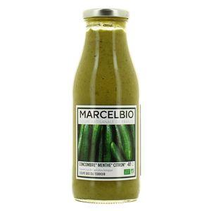 marcel bio soupe froide concombre menthe bio 48cl. Black Bedroom Furniture Sets. Home Design Ideas