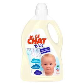 Le Chat Bébé Lessive liquide bébé 44 lavages