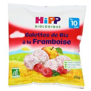 Hipp Galettes de Riz à la Framboise bio dès 10 mois