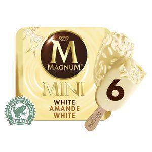 Magnum mini 6 mini b tonnets white mix 2 parfums assortis chocolat blanc c - Magnum chocolat blanc ...