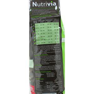 NUTRIVIA Croquettes Nutrivia Chien adulte moyenne taille au boeuf et aux carottes
