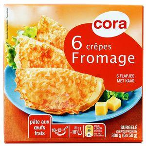 Cora 6 Crêpes au fromage 6x50g