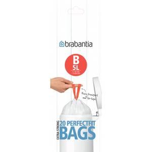 Brabantia Sacs poubelle 5L - Taille B