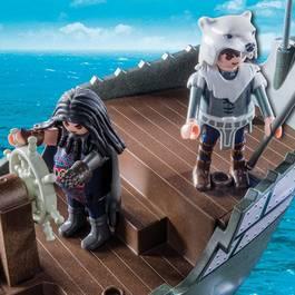 PLAYMOBIL® Dragons Drago et vaisseau d'attaque