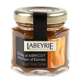 labeyrie chutney d 39 abricots faon pain dpices pour le foie gras 50g. Black Bedroom Furniture Sets. Home Design Ideas