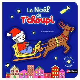 T Choupi Livre Pop Up de Noël