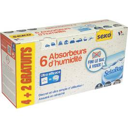 Sachets ansorbeur d'humidité, 6x,SEKO,6x