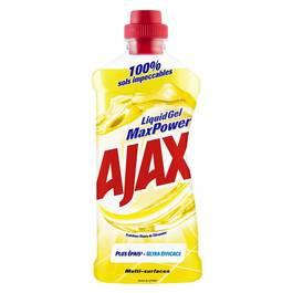 ajax liquide gel max power fracheur fleurs de citronnier 750ml. Black Bedroom Furniture Sets. Home Design Ideas