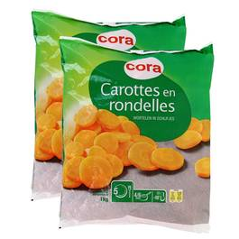 Cora Carottes en rondelles