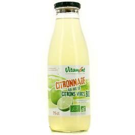 Vitamont Citronnade au jus de citron vert Bio