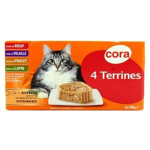 Cora Terrines riche en viande