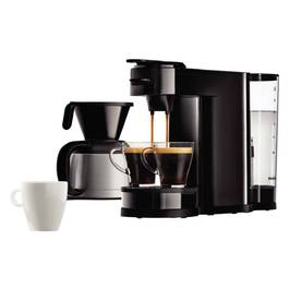 philips cafeti re 2 en 1 filtre et dosettes senseo switch noir hd7892 61. Black Bedroom Furniture Sets. Home Design Ideas