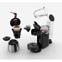 philips cafeti re 2 en 1 filtre et dosettes senseo switch noir hd7892 61. Black Bedroom Furniture Sets. Home Design Ideas