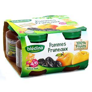 Blédina Pomme pruneau dès 4/6 mois