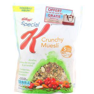 Céréales Crunchy Muesli airelles, courge & amandes